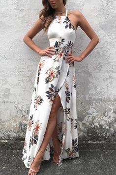 Turn heads in this sleek and sexy floral dress! Made from ultra smooth fabric for the best fit possible. Free Worldwide Shipping & 100% Money-Back Guarantee     SIZE US BUST WAIST HIP   S 4-6 34-35 27-28 37-38   M 8-10 36-37 29-30 39-40   L 12-14 39-40 32-34 42-43   XL 16-18 42-44 35-37 45-47    Note: Sizes are in inches.