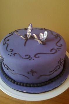 Dragonfly cake