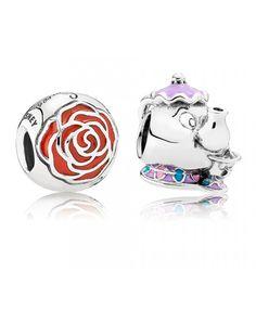 Pandora UK Mrs. Potts and Bell's Enchanted Rose