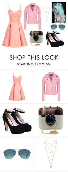 """""""Untitled #48"""" by queenofmusic598 on Polyvore featuring Boutique Moschino, Tiffany & Co., Forever 21, women's clothing, women, female, woman, misses and juniors"""