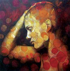 Emotions Painting  - Emotions Fine Art Print