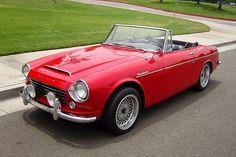1966_Datsun_Fairlady_Roadster. Note to the originator: you're awesome. Datsun=love.