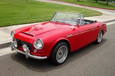 1966_Datsun_Fairlady_Roadster. Note to the originator: you're awesome. Datsun=love.