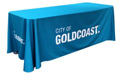 Table Throw Cover. These are digitally printed for full photographic quality on light-weight but durable fabric. Available as a fitted cover or a draping throw, they are made to fit standard 6ft (180cm) or 8ft (240cm) trestle tables or can be custom made to your requirements.