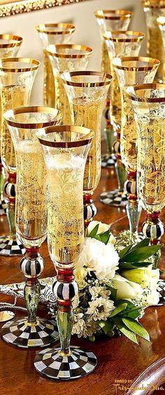 Champagne ~ Let's celebrate  #Luxurydotcom