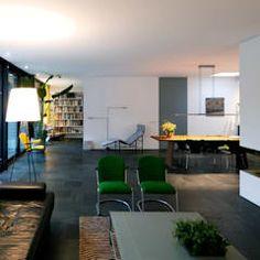 Modern living room by de kovel architecten modern Decoration, Sweet Home, House Design, Flooring, Living Room, Interior Design, Architecture, Inspiration, Furniture
