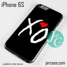 The Weeknd XO Love Phone case for iPhone 6/6S/6 Plus/6S plus