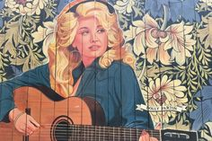Dolly Parton, painted by Scott Guion, is surrounded by even more music royalty from all genres. Head to the House of Blues Studios in Berry Hill and take your pick (and pic!)