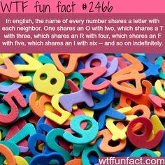 English Name Number - WTFreak fun facts