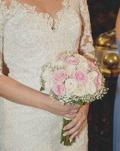 💗 Wedding Bouquet 💗 #weddingingreece #weddingdeco #weddingbouqet #roses #pink #pinkroses  #ivory #ivoryroses #ivoryflowers #pinkflowers #wedd #specialday #specialflower #specialmemories #2017 #greece #thessaloniki #anthos_theartofflowers Ivory Roses, Pink Roses, Pink Flowers, Greece Thessaloniki, Wedding Bouquets, Wedding Dresses, Special Flowers, Greece Wedding, Special Day