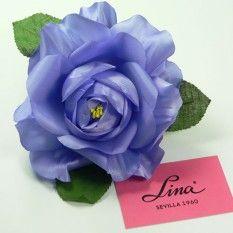 Rosa artificial grande color Malva PVP: 3,50€