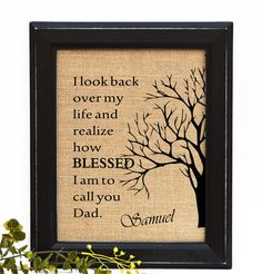 Dad From Son Father Birthday Gift Fathers Day Daughter To