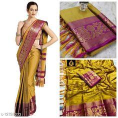 Sarees Aishani Graceful Sarees Saree Fabric: Jacquard Blouse: Running Blouse Blouse Fabric: Jacquard Pattern: Self-Design Blouse Pattern: Jacquard Multipack: Single Sizes:  Free Size (Saree Length Size: 5.3 m, Blouse Length Size: 0.8 m)  Country of Origin: India Sizes Available: Free Size   Catalog Rating: ★4.2 (528)  Catalog Name: Adrika Voguish Sarees CatalogID_2335782 C74-SC1004 Code: 235-12198273-