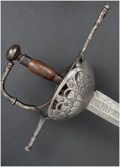 Espada de taza (semicalada) siglo XVII