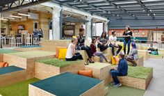 """""""Open space to collaborate at the office."""" Airbnb   Glassdoor Photos"""