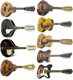 all sorts of Framus mandies