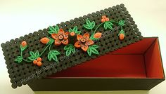 Quilling gift box