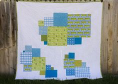 Stash Quilt Side B by from the blue chair, via Flickr