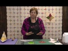 Jenny clarifies how to make the perfect prairie point. This tutorial is an add-on to our Periwinkle Quilt Tutorial to better explain how to get the perfect point using our Wacky Web tool. http://missouriquiltco.com