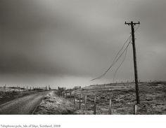 Kristoffer Albrecht, Telephone Pole, Isle of Skye, Scotland, 2008
