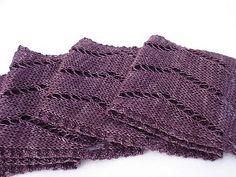 Ravelry: Zig and Zag Lace Scarf pattern by Jocelyn P Prasad