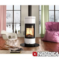 GardenMaxx's chimeneas & outdoor fires are both stylish and functional. GardenMaxx for sale from Fireplace Products, the UK's best range of chimeneas. Rv Wood Stove, Pellet Stove, Wood Stoves, Foyers, Double Sided Stove, Contemporary Wood Burning Stoves, Stove Fireplace, Gas Fireplaces, White Fireplace