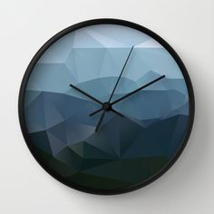 True at First Light Wall Clock by Three Of The Possessed - $30.00