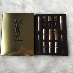 YSL Limited Edition - Lip Wardrobe Value of product is Luxe Wardrobe of best selling iconic lip formula. Never used, product was never opened. Yves Saint Laurent Makeup Lipstick