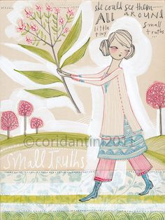 cori dantini — small truths, an original painting