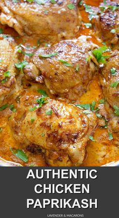 This yummy Chicken Paprikash is made entirely in one pan and is great for a weeknight meal on a budget or comforting Sunday dinner. In my easy recipe I used chicken thighs but you can also use drumsticks or chicken breasts. See the posts for specific deta Hungarian Chicken Paprikash, Chicken Paprikash With Dumplings, Weeknight Meals, Easy Meals, Comida Keto, Hungarian Recipes, Hungarian Food, Cooking Recipes, Healthy Recipes