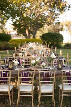 Purple, Ivory and Champagne Vintage Glam Wedding - Davis Islands Garden Club - Tampa Wedding Photographer Stephanie A. Smith Photography (23...