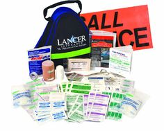 Deluxe First Aid Kit - 106 PIECES - Ideal for offices, schools, home, cottage and for all types of vehicles! Product Ideas, First Aid Kit, Offices, Schools, Medical, Cottage, Personal Care, Vehicles, Survival First Aid Kit