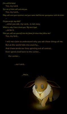 It's been mentioned before, Eevee is the greatest allusion to Jesus out of all of the TPP Pokemon. (http://www.reddit.com/r/twitchplayspokemon/comments/1yqhi7/what_have_we_done/cfmu1ce)