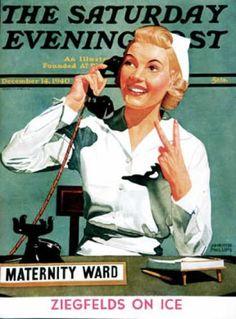 1940-12-14: Maternity Ward (John Hyde Phillips) Saturday Evening Post
