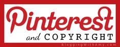If you're wondering about Pinterest and copyright issues, you MUST read this!  Thanks @Amy Lynn Andrews