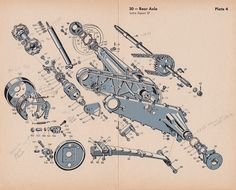 BZ & # s BMW Isetta 300 & # s: Isetta 300 parts plates exploded diagrams - Exotic Cars Fiat 600, Jdm Engines, Bmw Isetta, Microcar, Reverse Trike, Miniature Cars, Electronic Parts, Old Images, Illustration Sketches
