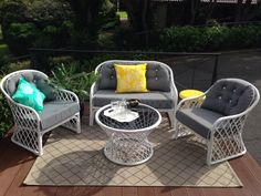 Cane Lounge Suite in Toowoomba, QLD   eBay