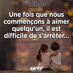 Once we begin to love someone, it is difficult to stop. Sweet Words, Love Words, Love In French, Best Quotes, Love Quotes, Tu Me Manques, French Quotes, French Lessons, Positive Mind