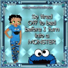 Jewels Art Creation: Bed time funny