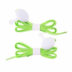 Green Shoelaces (2 pairs), 20% discount @ PatPat Mom Baby Shopping App