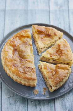 Chicken, mushroom and bacon pie - tourte champignon - Hühnerrezepte Quiches, Tart Recipes, Cooking Recipes, Drink Recipes, Bacon Pie, Bacon Bacon, Savory Tart, Breakfast Items, Healthy Breakfast Recipes
