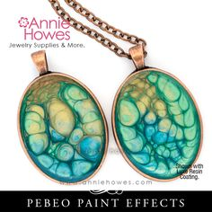 Fantasy Prisme Effect Paint by Pebeo Polymer Clay Projects, Resin Crafts, Resin Art, Jewelry Crafts, Jewelry Art, Resin Jewellery, Jewelry Ideas, Jewlery, Rustic Jewelry