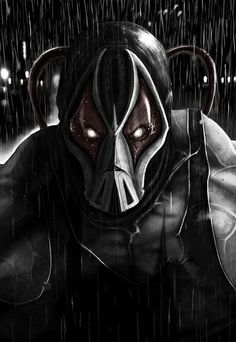I wish they had used the original Bane in TDKR. He looks so much cooler!!!