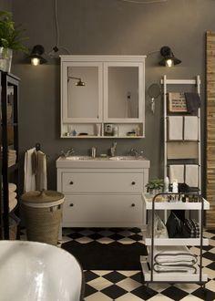 deze storjorm spiegel met ingebouwde led-bron zorgt voor een, Badkamer