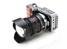 AmazonSmile : TILTA BMPC Cage DSLR Rig w/ Handle Grip 15mm BMPCC for Blackmagic Pocket Camera : Camera & Photo