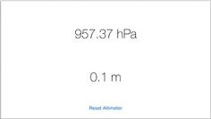 Barometer, una app para ver los datos que recoge el barómetro del iPhone 6 - http://www.actualidadiphone.com/2014/10/07/barometer-una-app-para-ver-los-datos-que-recoge-el-barometro-del-iphone-6/