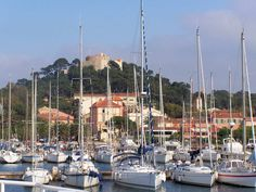 Port of Porquerolles, an island in Var. Provence, Destinations, Salton Sea, Parc National, Antibes, French Riviera, Months In A Year, Great Places, San Francisco Skyline