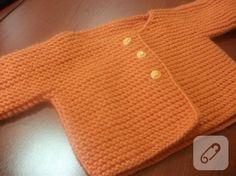 Haroşa bebek hırkası Premature Baby, Baby Sweaters, Baby Knitting, Diy And Crafts, Pullover, Crochet, Ideas, Swan, Patterns