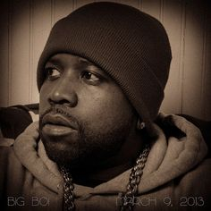 Big Boi of Outkast. We went to the same middle school, just not at the same time...LOL