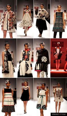 Indian Fashion - Indian Designer - Indian Fashion Week Spring Summer 2013 - Poonam Bhagat